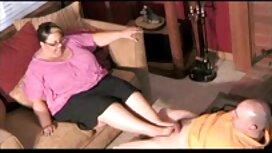 Đưa bệnh ung thư trên sàn nhà và tinh dịch phimsec không che trong hậu môn